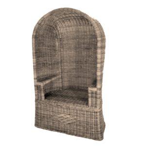 Ouderwetse Rieten Strandstoel.Ligstoelen En Strandstoelen Rotanmanden De Webshop Voor