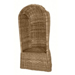 Rotan Strandstoel Small in Grey