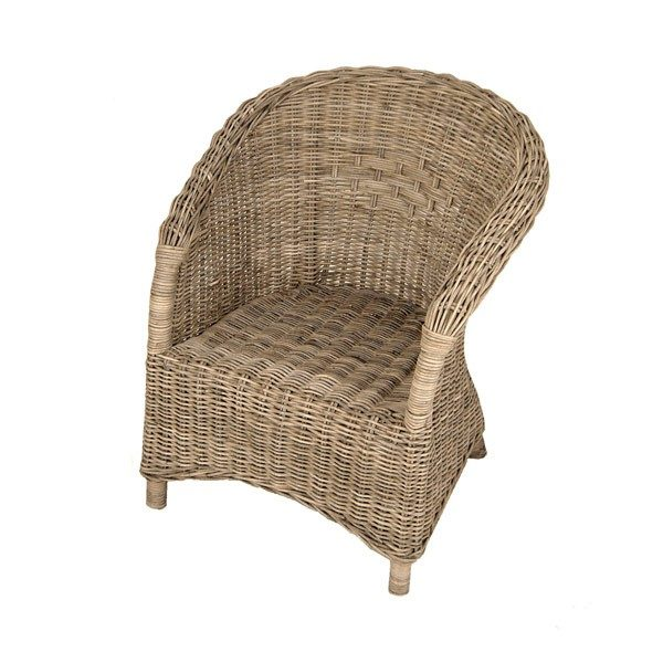 Kinderstoel Page in Grey rotan