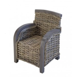 Kinderstoel Astrid in Grey rotan