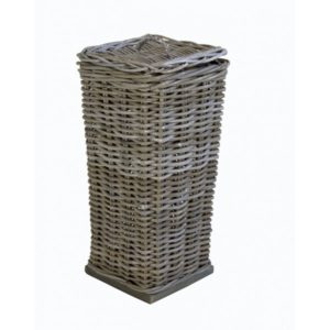 Toiletrolhouder vierkant in Grey rotan